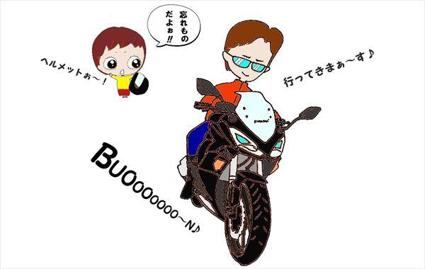 我が名はバイク乗り Kawasaki  Ninja1000
