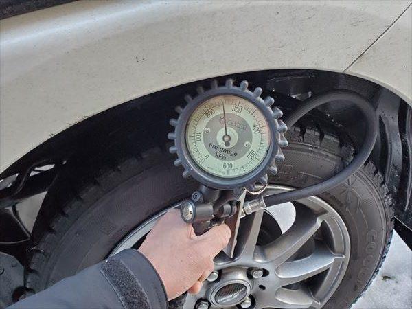 N-BOX タイヤ空気圧